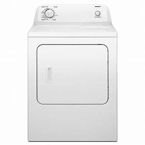 Admiral 6 5 Cu  Ft  Electric Dryer In White-aed4675yq