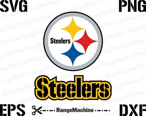 Pittsburgh Steelers Logo In Svg Eps Dxf Png