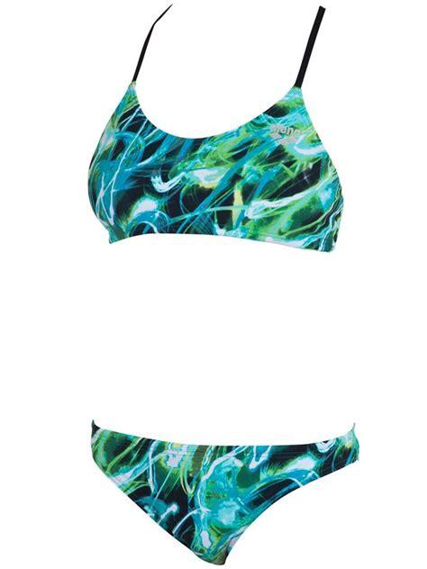 Arena Lonaka Viridian Green Sports Bikini