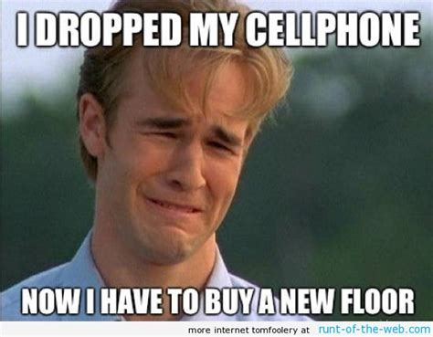 Cellphone Meme - the best of the 90 s problems meme