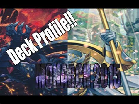 Tcg Deck List 2015 by Deck Profile Monarch 2015 Ocg Tcg By Channel Labb