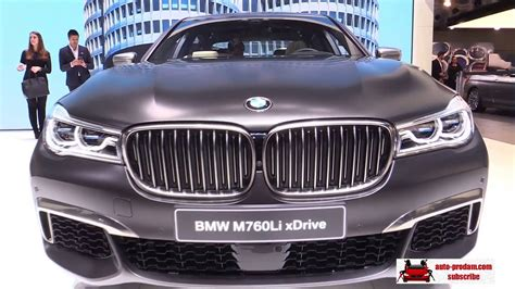 Bmw Alpina B7 2016, Bmw M760i Xdrive 2016, Bmw M760li