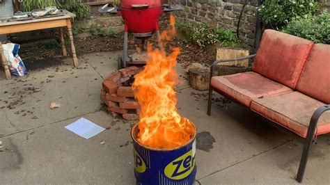 Breeo double flame smokeless outdoor fire pit. Smokeless Fire Pit Grande - YouTube