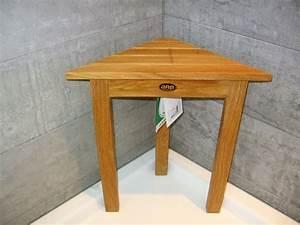 Tabouret Douche Bois : banc de douche teck ekipia ~ Edinachiropracticcenter.com Idées de Décoration
