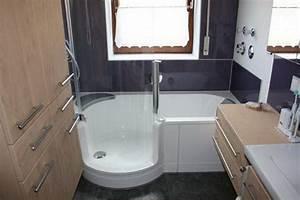 Duschen Für Kleine Bäder : kleine b der mit dusche und badewanne ~ Bigdaddyawards.com Haus und Dekorationen