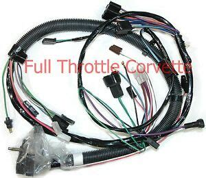 1980 Corvette Wiring Harnes by 1980 Corvette Engine Wiring Harness Auto Trans With Lock