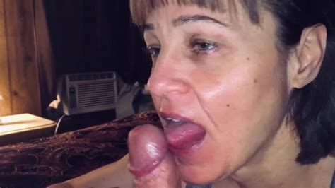 Mature Hot Wife Sucking Friends Dick And Making Him