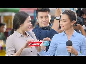 Try the NEW Colgate Active Salt toothpaste! - YouTube