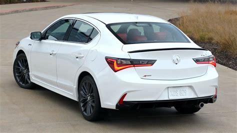 2019 acura ilx a spec interior platinum white pearl exterior interior youtube