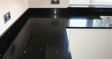 black sparkle kitchen worktop kitchen design ideas
