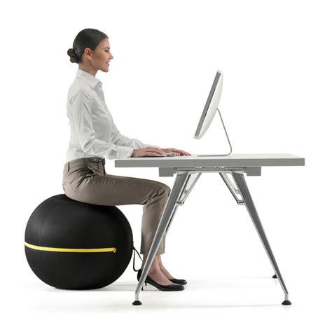 technogym ball chair  sitting  healthy activity