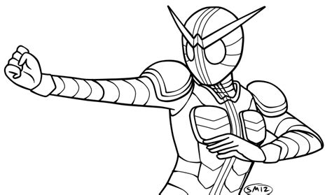 kamen rider coloring pages coloring pages