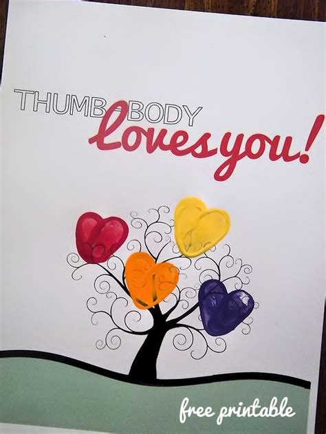 thumb body loves   printable gift idea