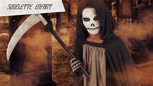 Maquillage Garcon Halloween : tuto maquillage squelette enfant youtube ~ Farleysfitness.com Idées de Décoration