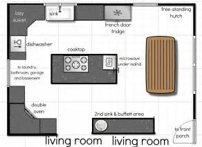 kitchen plan ideas kitchen floor plan ideas afreakatheart