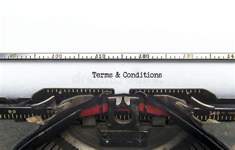 Terms & Conditions Stock Photo Image Of Communications
