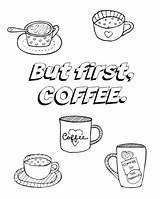 Coffee Coloring Pages Adult Cup Better Hope Feel Printable Colour Sheet Resource Practicalmommy Heart Template Books Mug Printables Getdrawings sketch template