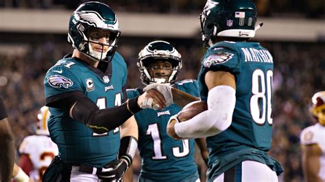 dont  carson wentz  eagles   playoff long shot