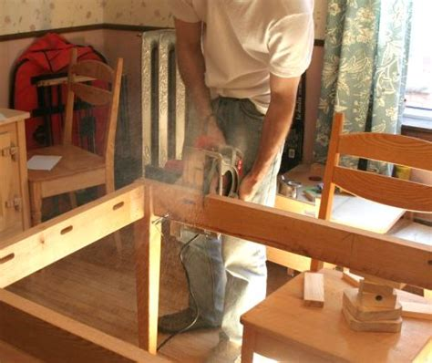 how to make table legs from wood attaching table legs with a dowel jig