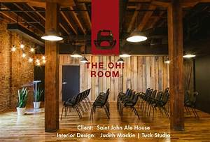 """The Saint John Ale House launches the """"OH! ROOM - the ..."""