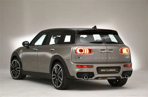 mini clubman  pictures  video autocar