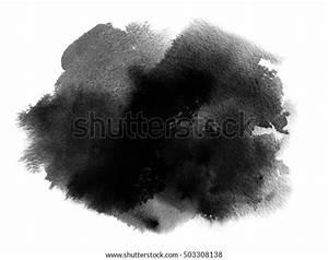 Acuarela Manchas Buscar Con Ilustraciones Ilustración De Stock Sobre Mancha Acuarela Negra Con Tinte
