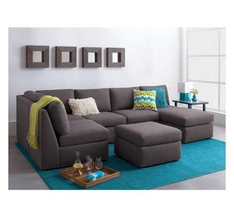 Therapy Sectional by Sectionals For Small Spaces Grey Crate And Barrel And