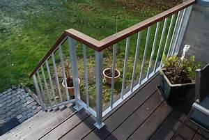 Terrasse gel nder for Geländer terrasse