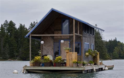 Floating Zombie Proof House