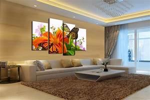 Toile Deco Salon : toile decorative pour salon bricolage maison et d coration ~ Teatrodelosmanantiales.com Idées de Décoration