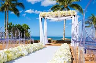 wedding in hawaii hawaii weddings disney 39 s tale weddings