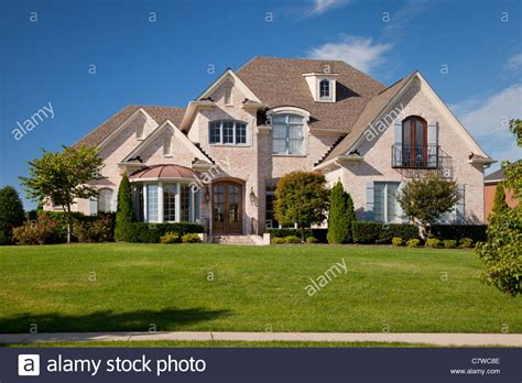 Typisches Amerikanisches Haus by Typical American House Brick Stock Photos Typical
