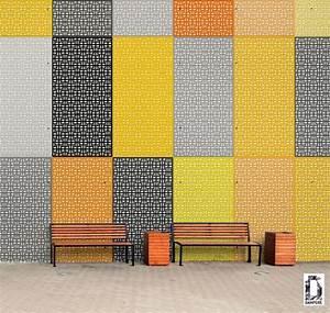 1000 images about moucharabiez tole perforee resille With salle de bain design avec tole perforée décorative sur mesure