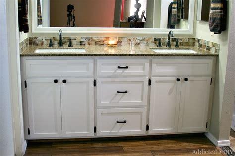 5 foot double sink vanity diy double bathroom vanity addicted 2 diy