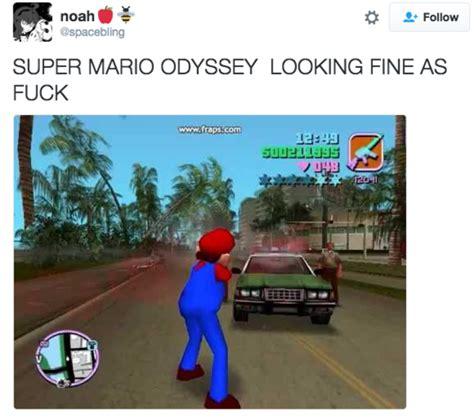 Super Mario Odyssey Memes - mario grand theft auto mod super mario odyssey know your meme