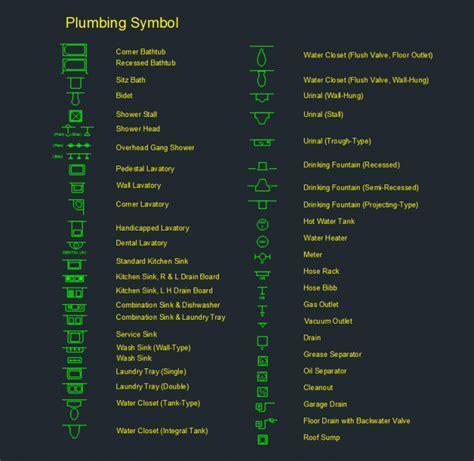 Plumbing Symbol     Free CAD Blocks And CAD Drawing