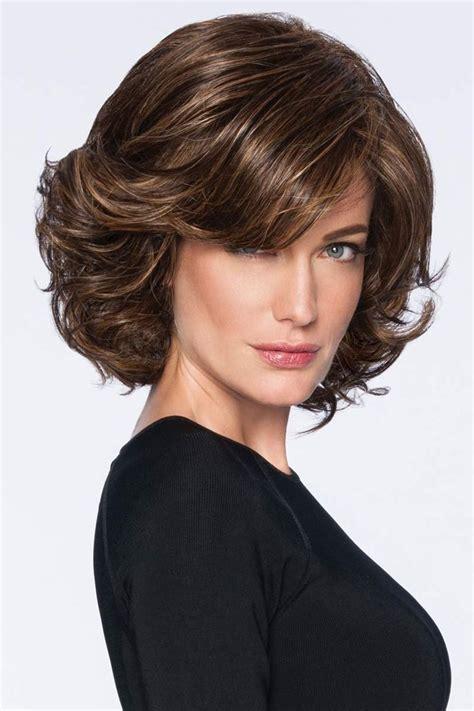 modern flair  hairdo wigs pricheski dlya volos sredney
