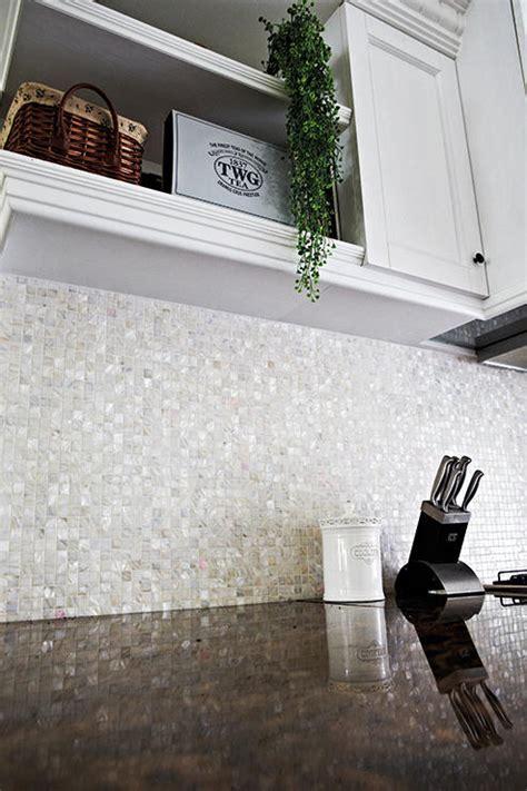 Backsplash ideas for an easy clean kitchen   Home & Decor