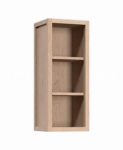 Cabinet Open Wall Kitchen Upper Oak Radix