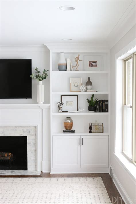 The Dos And Don'ts Of Decorating Builtin Shelves The