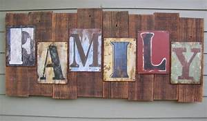 reclaimed wood heart vintage key rustic chic home decor With reclaimed metal letters