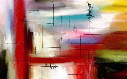 Modern Desktop Background Painting Abstract Contemporary Wallpapers