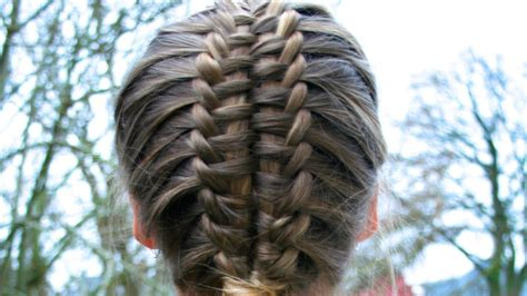 suspended infinty braid tutorial hairandnailsinspiration