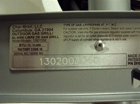 char broil gas patio bistro grills recalls and safety alerts