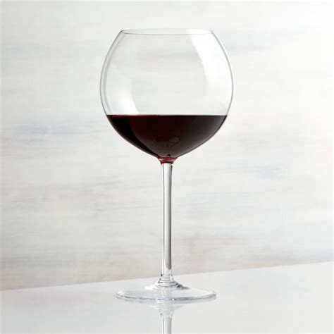 Vineyard 26 oz. Burgundy Wine Glass   Reviews   Crate and