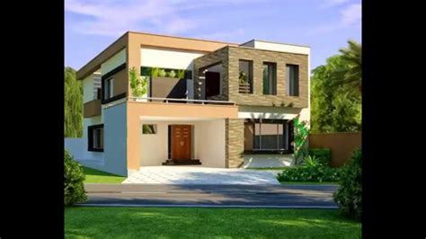 Outer Elevations Modern Houses  Homes Floor Plans