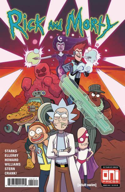 rick  morty  reviews   comicbookroundupcom