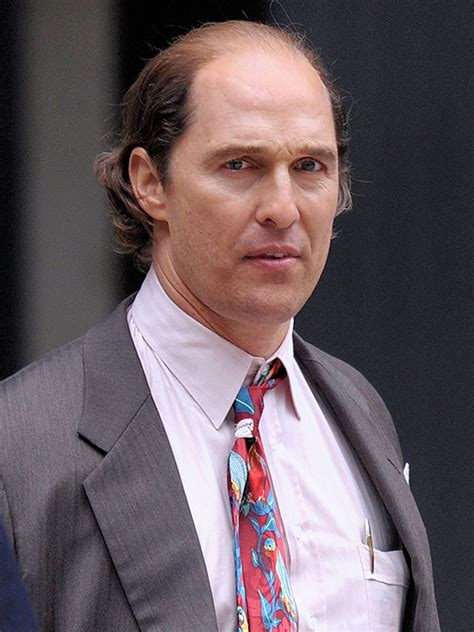Podgy Balding What Happened Matthew Mcconaughey