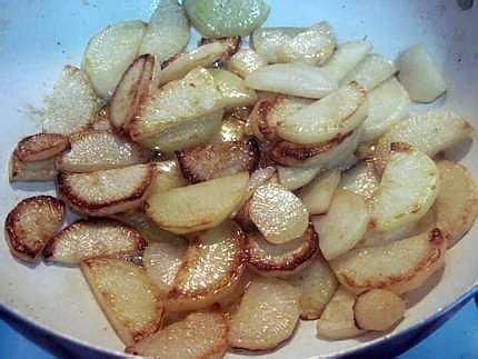 cuisine radis noir recette de crevettes sur 1 lit de radis noir rissolé avec