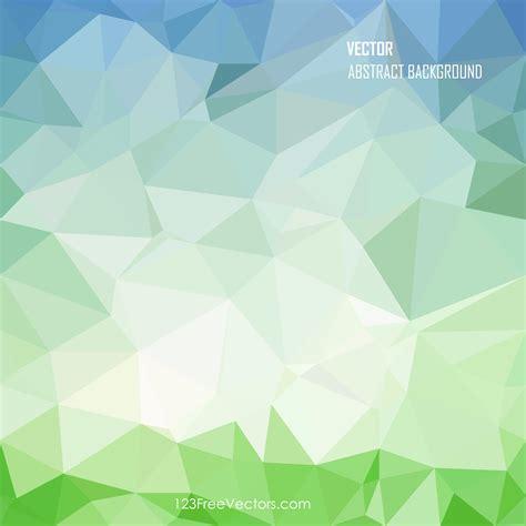 blue green geometric polygon background